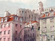 Городские пейзажи художника Ренато Палмути