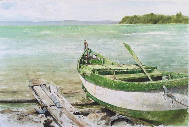пейзажи и натюрморты художника Атанаса Мацуреффа