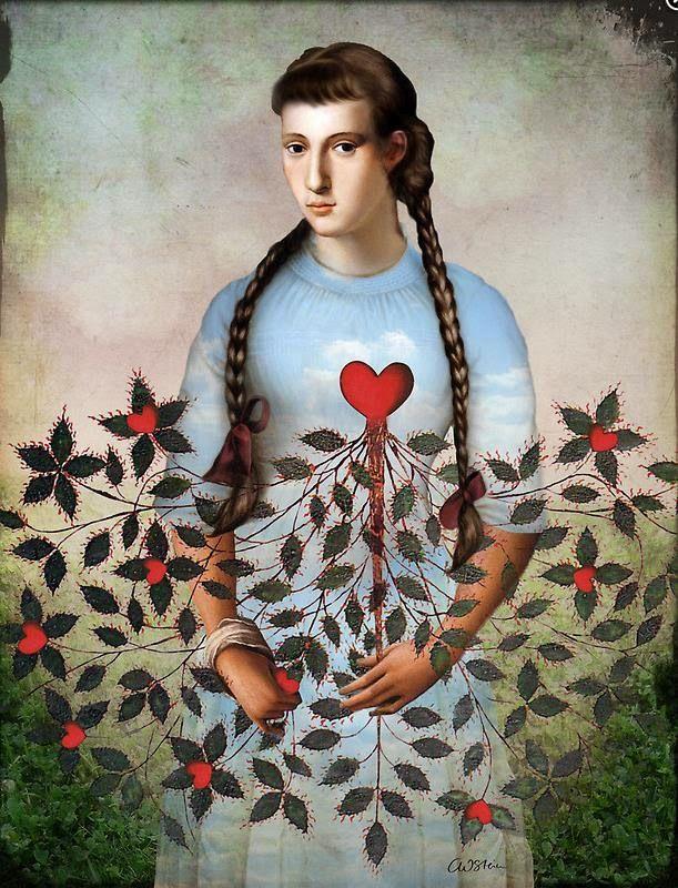 Сюрреалистические иллюстрации Катрин Вельц-Штайн