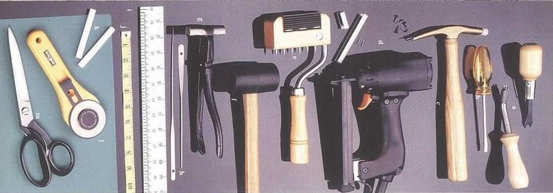 Инструменты для обивки мебели
